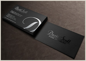 Best Business Cards For A Jewelry Designer Jewelry Business Card Design