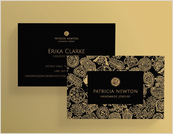 Best Business Cards For A Jewelry Designer Jewelry Business Card Template 27 Free & Premium Download