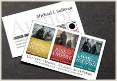 Best Business Cards For Authors 30 Best Business Card Ideas For Writers Images