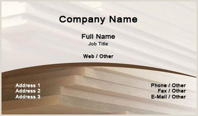 Best Business Cards For Carpenters Business Card Templates Carpenter