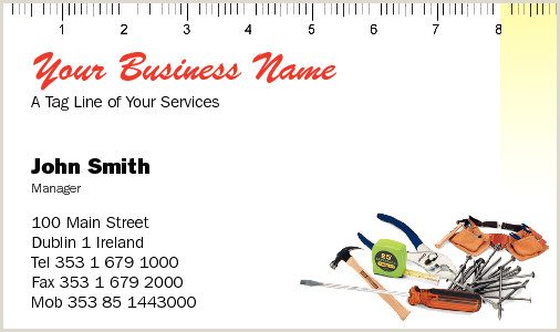 Best Business Cards For Carpenters Business Cards For Carpenters