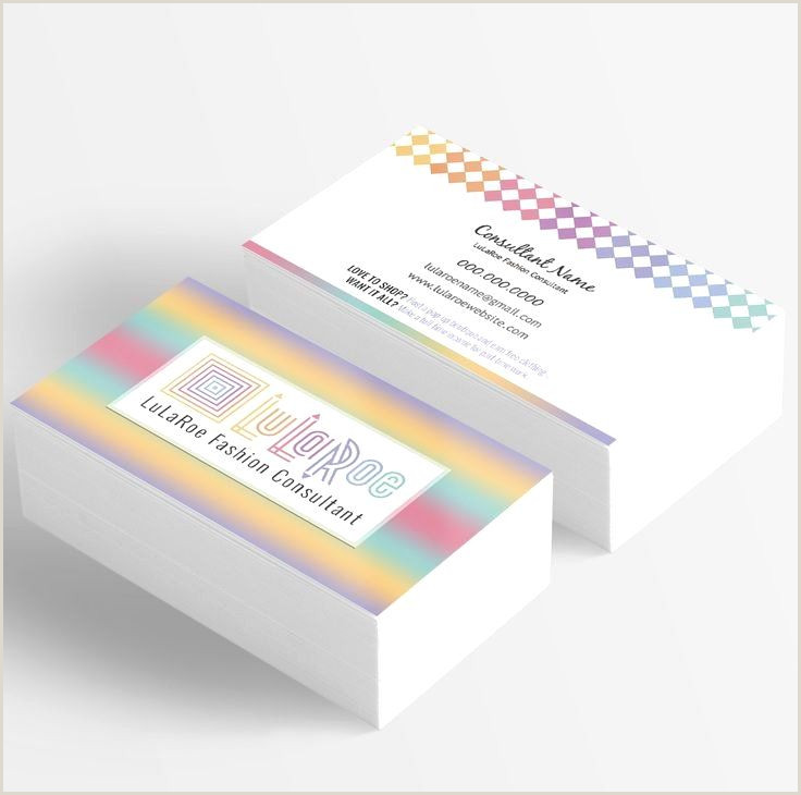 Best Business Cards For Consultants Lularoe Business Card Template Inspirational Best 25 Lularoe