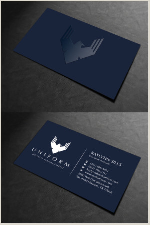 Best Business Cards For Consultants Management Consultant Business Card Design
