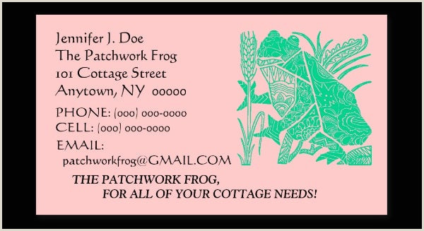 Best Business Cards For Crafters 28 Best Premium Crafter Business Cards For Download