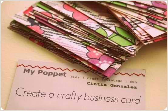 Best Business Cards For Crafters 6 Design Tips For The Perfect Craft Business Card