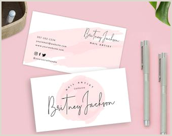 Best Business Cards For Etsy Business Card Design