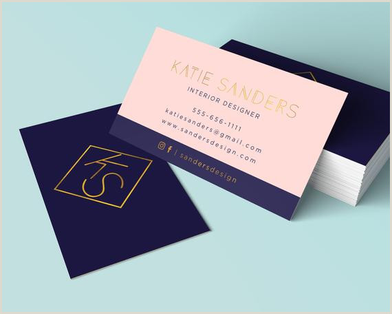 Best Business Cards For Etsy Modern Printable Business Card Attention Digital Files Ly Interior Designer Business Card Luxury Stationery Real Estate Branding
