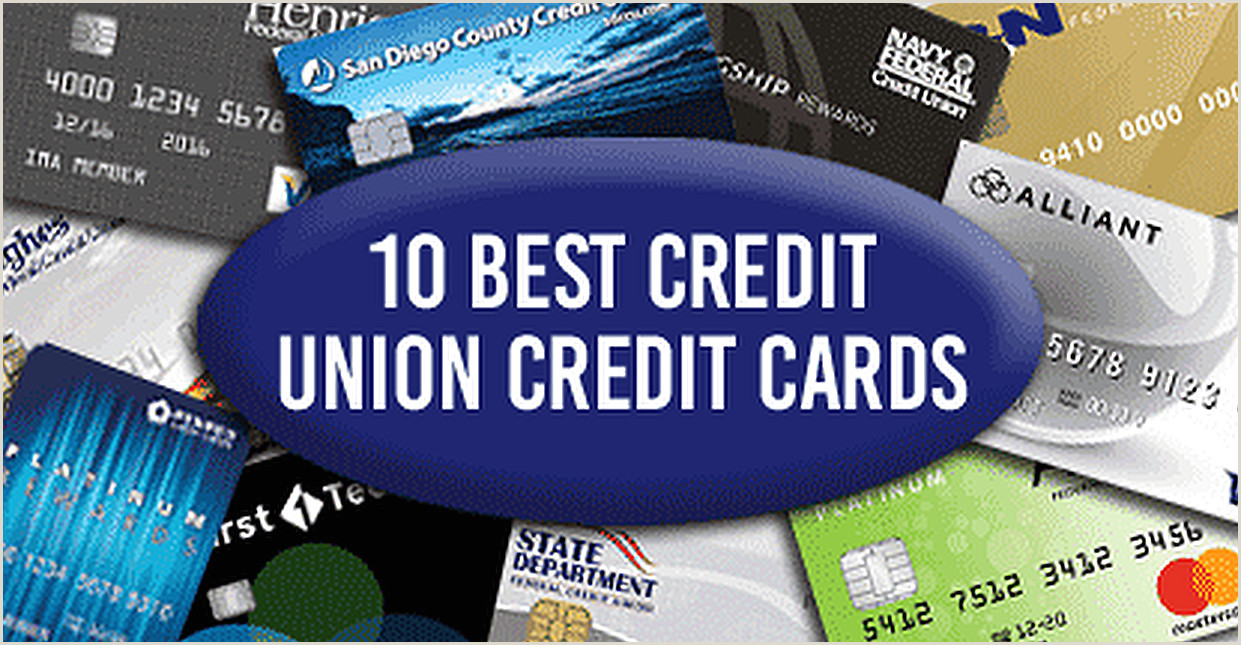 Best Business Cards For Fair Credict 10 Best Credit Union Credit Cards Of 2020 Cardrates