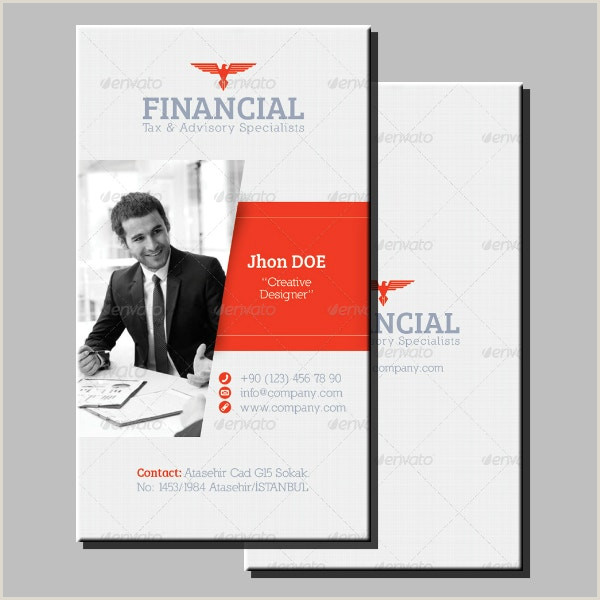 Best Business Cards For Financial Advisor 10 Financial Business Card Templates Illustrator Ms Word