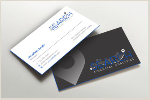 Best Business Cards For Financial Advisor Financial Business Cards