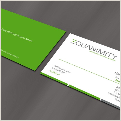 Best Business Cards For Financial Advisor Modern Sleek And Professional Business Cards For Financial