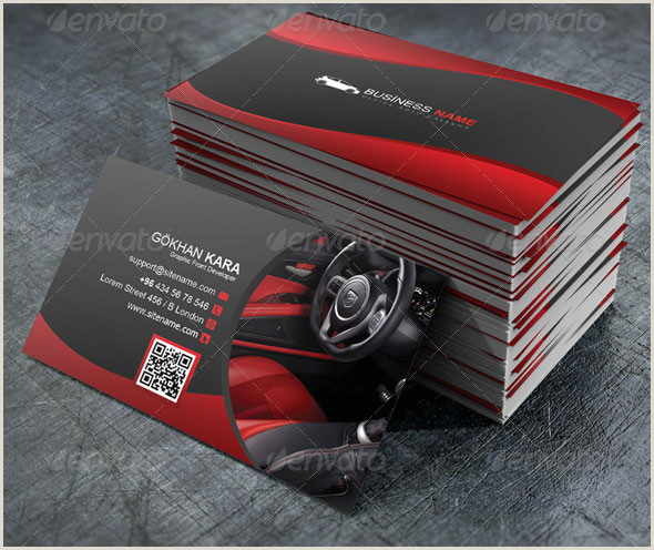 Best Business Cards For Fuel And Parts 20 Best Automotive Business Card Design Templates