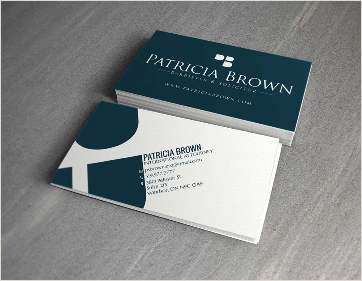 Best Business Cards For Lawyers Top 25 Professional Lawyer Business Cards Tips & Examples