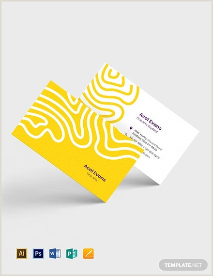 Best Business Cards For Multi Colored Logo 24 Examples Of Colorful Business Card Templates Ai Word