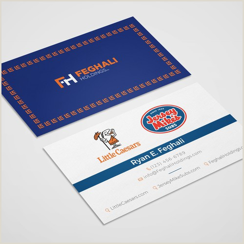 Best Business Cards For Multiple Owners Design A Modern Business Card For A Multi Brand Franchisee