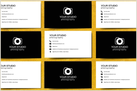 Best Business Cards For Photographers 18 Best Free Graphy Business Card Templates