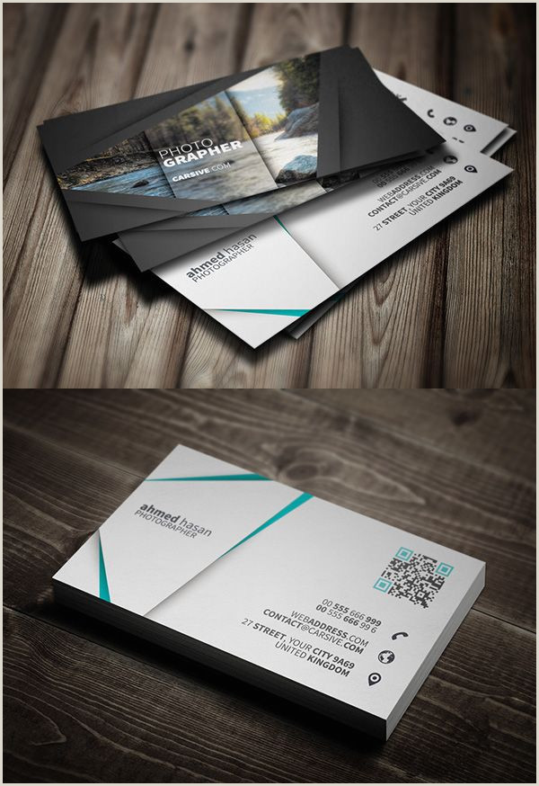 Best Business Cards For Photographers 20 Best Modern Corporate Business Cards Designs With Images
