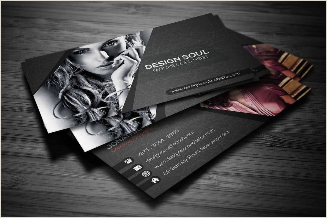 Best Business Cards For Photographers Graphy Business Cards 20 Templates & Ideas