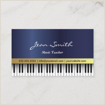 Best Business Cards For Piano Teacher Piano Business Cards