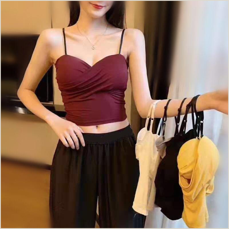 Best Business Cards For Professional Women 2020 2020 Hot New Summer Camisole Tank Top Vests Tops La S Women Underwear Female Girl Camis Cotton High Quality Fashion From Bailanh $28 27