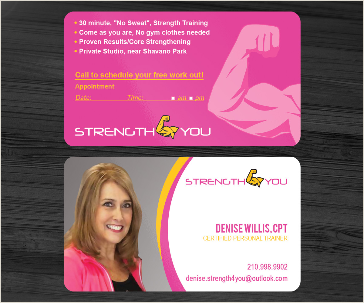 Best Business Cards For Professional Women Feminine Business Cards