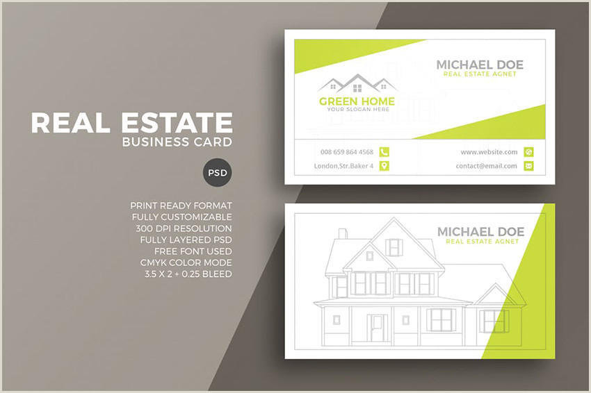 Best Business Cards For Realtors 25 Best Real Estate Business Card Designs Unique Ideas For
