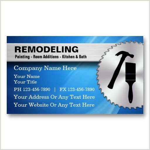 Best Business Cards For Remodeling Remodeling Business Cards Zazzle