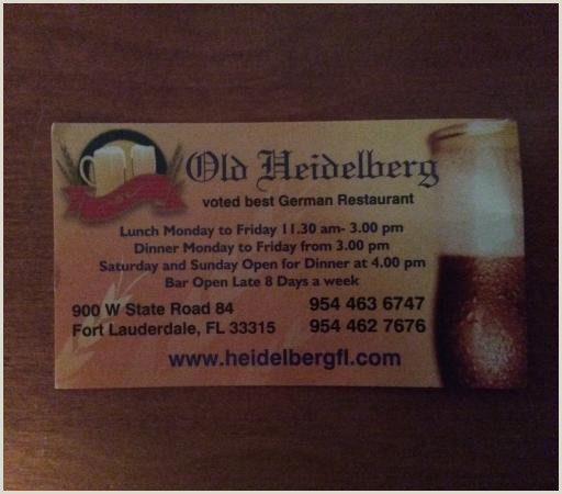 Best Business Cards For Restaurants Business Card We Will Go Back If We Are In The Area