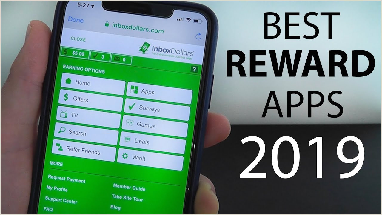 Best Business Cards For Rewards Best Reward Apps 2019 How To Earn Free Gift Cards On Your IPhone
