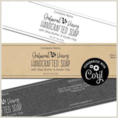 Best Business Cards For Soap Labels 45 Best Soap Labels And Packaging Images In 2020