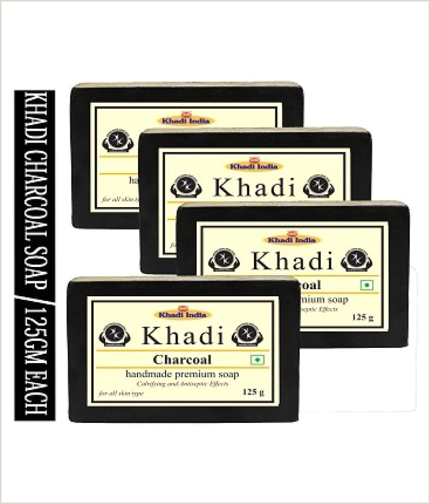 Best Business Cards For Soap Labels Khadi Herbal Charcoal Soap 500 G Pack Of 4