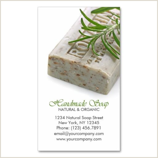 Best Business Cards For Soap Labels Natural And Organic Herbal Handmade Soap Business Card
