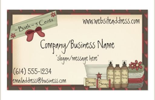 Best Business Cards for soap Labels soap Business Card Business Card Templates