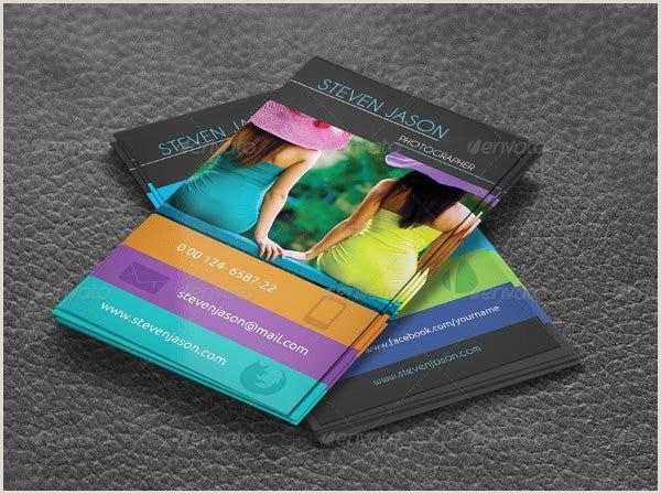 Best Business Cards For Social Media 13 Social Media Business Card Templates Psd Word Ai
