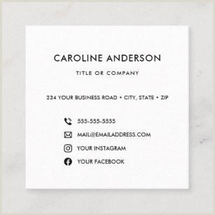 Best Business Cards For Social Media Social Media Business Cards Business Card Printing