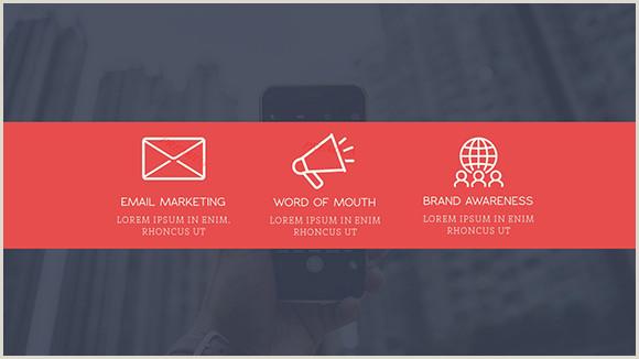 Best Business Cards For Social Media Social Media Report Presentation Template