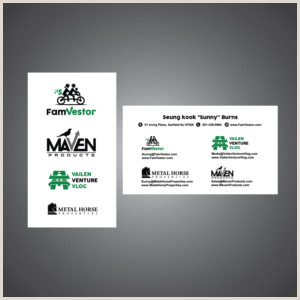 Best Business Cards for Startups with New Fein Entrepreneur Business Cards