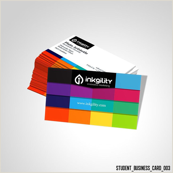 Best Business Cards For Students 21 Student Business Card Templates Psd Word Pages
