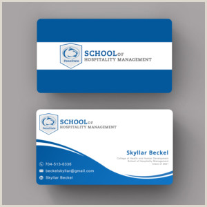 Best Business Cards For Students Student Business Cards