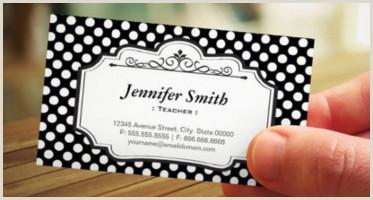 Best Business Cards for Teachers and Educators? 15 Teacher Business Card Templates Free Psd Designs