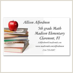 Best Business Cards For Teachers And Educators? 40 Best Business Cards Teachers Images