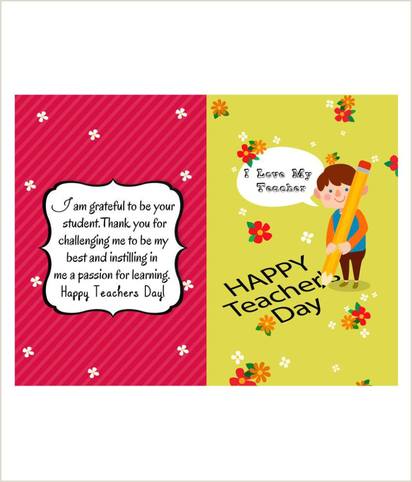 Best Business Cards For Teachers And Educators? My Teacher My Hero Greeting Card