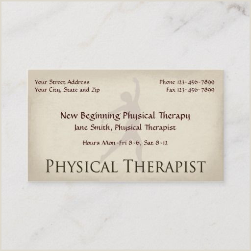 Best Business Cards For Therapists 200 Best Physical Therapist Business Cards Images In 2020