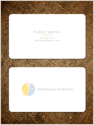 Best Business Cards For Therapists Physical Therapy Business Cards
