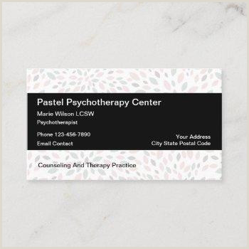 Best Business Cards For Therapists Psychotherapist Business Cards