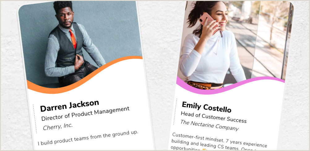 Best Business Cards For Unemployed Job Seekers 8 Examples Of Business Cards For Job Seekers