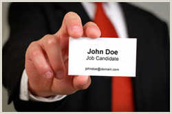 Best Business Cards For Unemployed Job Seekers Job Seekers Business Cards Resume Template Database