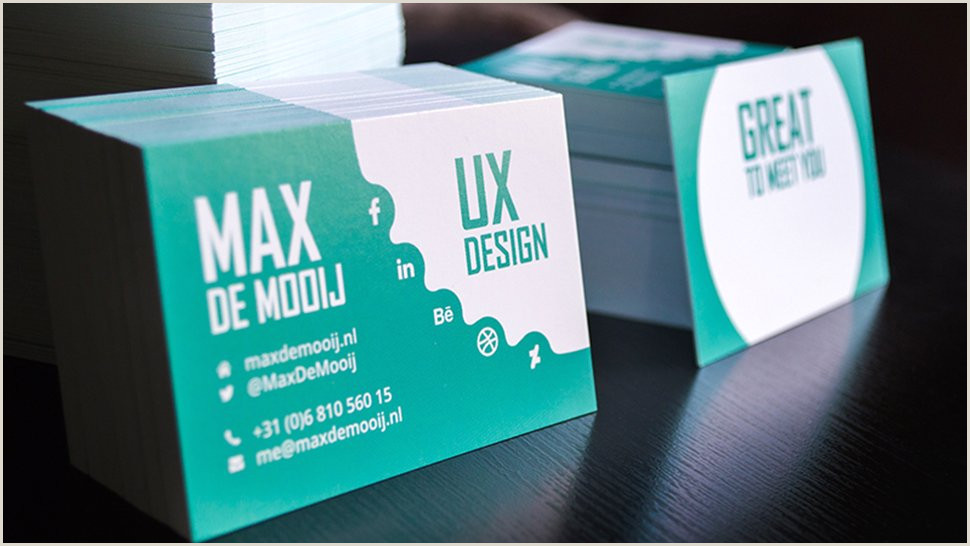 Best Business Cards For Ux Researchers 8 Great Business Cards For Ux Designers ΕιδΠσεις από τον