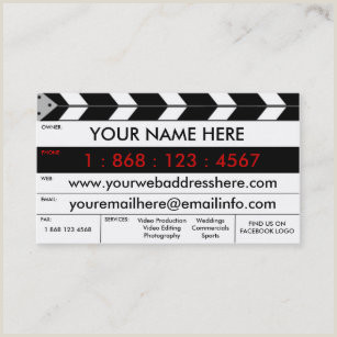 Best Business Cards For Videogrpaher.editor Videographer Business Cards Business Card Printing