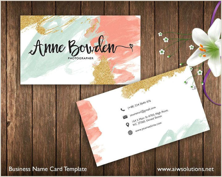 Best Business Cards For Watercolor Artists 11 Watercolour Business Card Templates Psd Ai